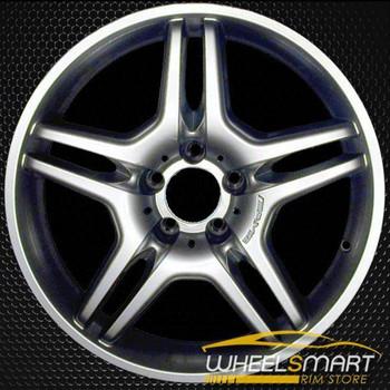 "17"" Mercedes CLK550 OEM wheel 2008-2009 Hypersilver alloy stock rim ALY65390U78"