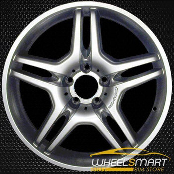 "17"" Mercedes CLK550 OEM wheel 2008-2009 Hypersilver alloy stock rim ALY65391U78"