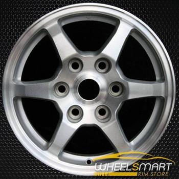 "16"" Mitsubishi Montero OEM wheel 2001-2002 Silver alloy stock rim ALY65775U10"
