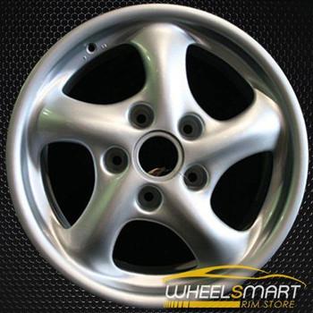 "17"" Porsche 911 OEM wheel 1999-2001 Silver alloy stock rim ALY67234U10"