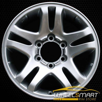 "17"" Toyota Sequoia OEM wheel 2003-2006 Silver alloy stock rim ALY69440U30"