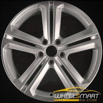 """18"""" Volkswagen VW Jetta OEM wheel 2015-2018 Hypersilver alloy stock rim ALY69987U77"""