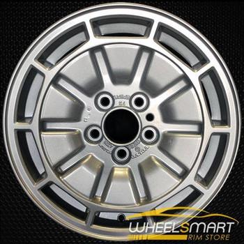 "15"" Volvo 740 OEM wheel 1985-1990 Silver alloy stock rim ALY70157U10"
