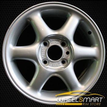 """15"""" Volvo S70 OEM wheel 1998-2000 Silver alloy stock rim ALY70190U10"""