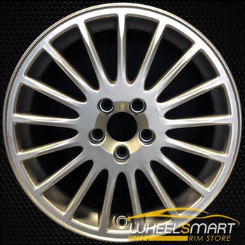 "17"" Volvo S60 OEM wheel 2001-2009 Hypersilver alloy stock rim ALY70247U78"
