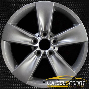 "18"" BMW 5 Series OEM wheel 2006-2010 Silver alloy stock rim ALY71205U20"