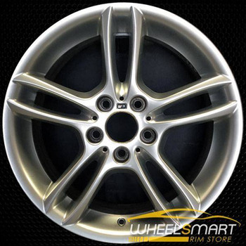 "18"" BMW 128i OEM wheel 2008-2013 Hypersilver alloy stock rim ALY71255U77"