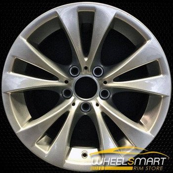 "17"" BMW 535i OEM wheel 2008-2010 Silver alloy stock rim ALY71299U20"