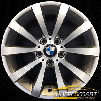 "17"" BMW 328i OEM wheel 2008-2013 Silver alloy stock rim ALY71317U20"