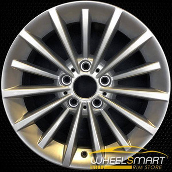 "17"" BMW 335i OEM wheel 2008-2013 Silver alloy stock rim ALY71318U20"