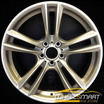 "20"" BMW 535i GT OEM wheel 2010-2017 Silver alloy stock rim ALY71379U20"