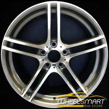 "19"" BMW 328i OEM wheel 2008-2013 Machined alloy stock rim ALY71390U10"