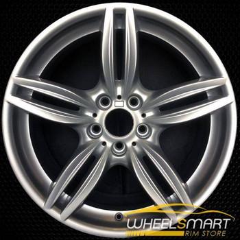 "19"" BMW 640i OEM wheel 2012-2018 Silver alloy stock rim ALY71414U20"