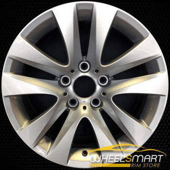 "17"" BMW 323i OEM wheel 2008-2012 Silver alloy stock rim ALY71453U20"