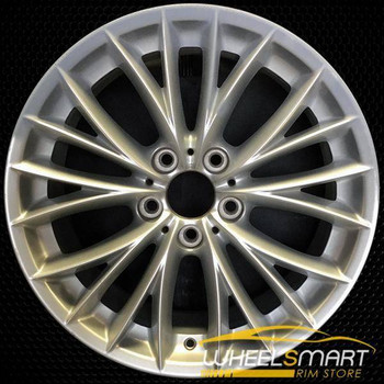 "18"" BMW 328i OEM wheel 2008-2011 Silver alloy stock rim ALY71457U20"