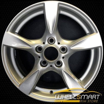"17"" BMW 128i OEM wheel 2008-2013 Silver alloy stock rim ALY71504U20"