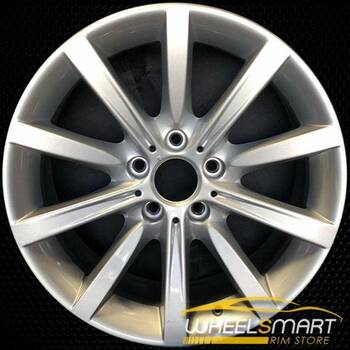 "18"" BMW 650i OEM wheel 2012-2018 Silver alloy stock rim ALY71512U20"