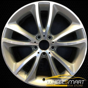 "19"" BMW 640i OEM wheel 2012-2018 Machined alloy stock rim ALY71515U10"