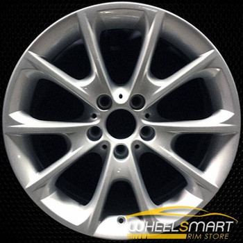 "18"" BMW 328i OEM wheel 2012-2018 Silver alloy stock rim ALY71541U20"