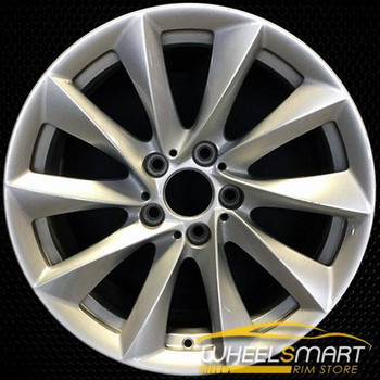 "18"" BMW 320i OEM wheel 2012-2018 Silver alloy stock rim ALY71543U20"
