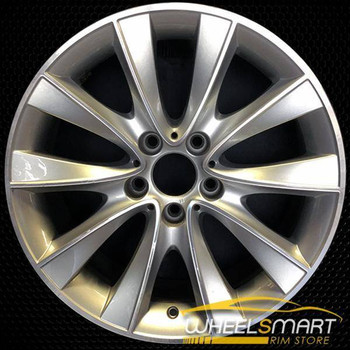 "18"" BMW 535i GT OEM wheel 2010-2017 Silver alloy stock rim ALY71586U10"