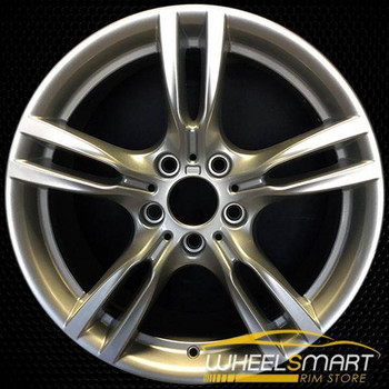 "18"" BMW 320i OEM wheel 2012-2018 Silver alloy stock rim ALY71616U20"