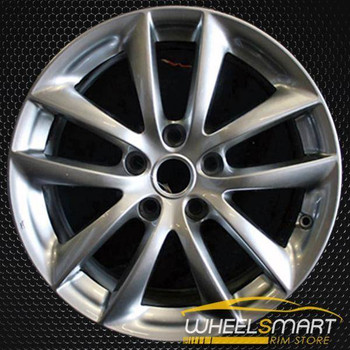 "17"" Infiniti G35 OEM wheel 2007-2008 Hypersilver alloy stock rim ALY73693U77"