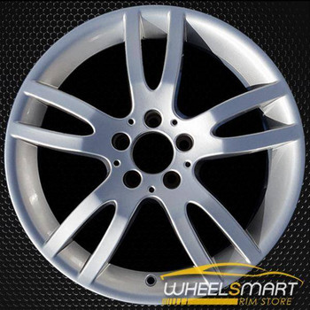 "18"" Mercedes SL550 OEM wheel 2008 Silver alloy stock rim ALY85035U20"
