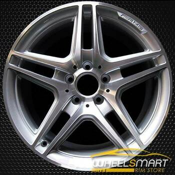 "18"" Mercedes C350 OEM wheel 2008-2015 Machined alloy stock rim ALY85057U10"