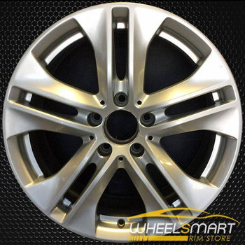 "17"" Mercedes E350 OEM wheel 2010 Silver alloy stock rim ALY85148U20"
