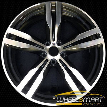 "20"" BMW 740i OEM wheel 2016-2018 Machined alloy stock rim ALY86285U30"
