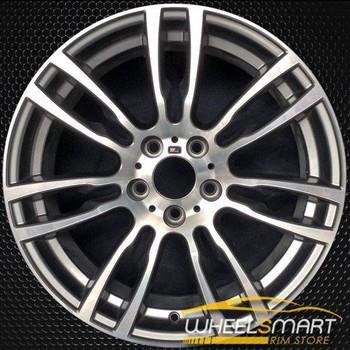 "19"" BMW 3 Series rims for sale 2012-2018 Machined OEM wheel ALY71621U35"