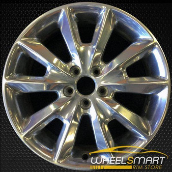 "18"" Jeep Cherokee rims for sale 2014-2016 Polished OEM wheel ALY09132U90"