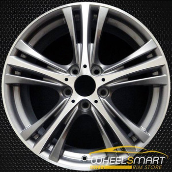"19"" BMW 320i rims for sale 2014-2018 Machined OEM wheel ALY86012U30"