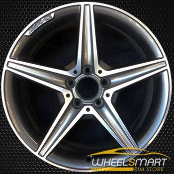 "18"" Mercedes C Class rims for sale 2015-2018 AMG Machined OEM wheel ALY85372U35"