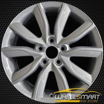 "17"" Audi A3 OEM wheel 2009-2013 Silver alloy stock rim ALY58832U20"