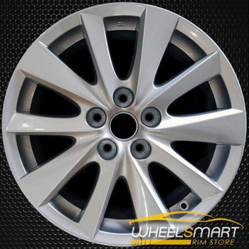 "17"" Mazda CX5 OEM wheel 2013-2016 Silver alloy stock rim ALY64954U20"