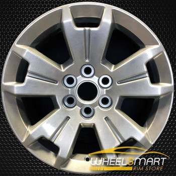 "17"" Chevy Colorado oem wheel 2015-2018 Silver alloy stock rim 5672"
