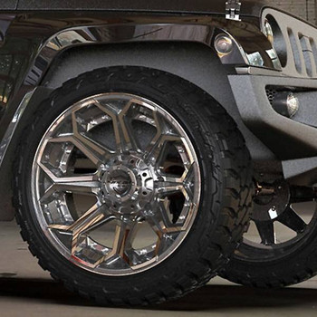 6-Lug 4Play 4P80R Wheels Machined Gunmetal Custom Truck Rims