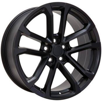 "20"" Chevy Camaro  replica wheel 2010-2018 Matte Black rims 9491666"