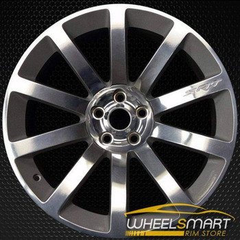 "20"" Chrysler 300 SRT8 oem wheel 2005-2010 Polished stock rim 5290991AC"