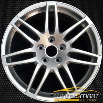 "18"" Audi A4 OEM wheel 2007-2010 Silver alloy stock rim 8E0601025BA"