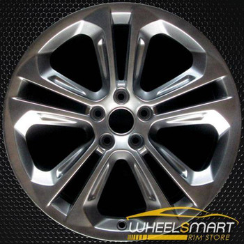 "19"" Audi Q3 OEM wheel 2015-2018 Hypersilver alloy stock rim 8U0601025AD"