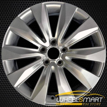 "18"" Audi A8 OEM wheel 2008-2010 Silver alloy stock rim 4E0601025BB"
