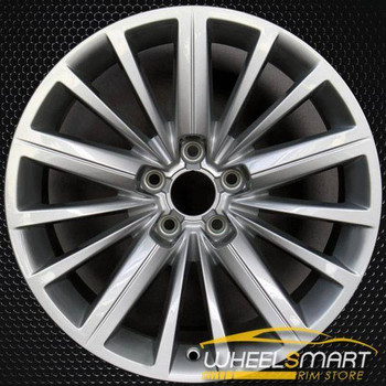 "18"" Audi A5 OEM wheel 2010-2018 Silver alloy stock rim 8F0601025A"
