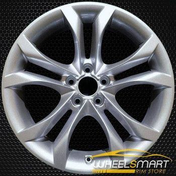 "18"" Audi A5 OEM wheel 2013-2018 Silver alloy stock rim 8T0601025CL, 8T0601025G"