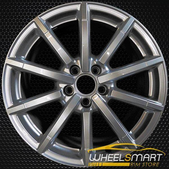 "18"" Audi A3 OEM wheel 2014-2018 Hypersilver alloy stock rim 8V0601025AQ"