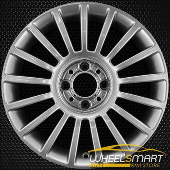 "15"" Fiat 500 OEM wheel 2011-2018 Hypersilver alloy stock rim 68072557AA"