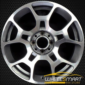 "16"" Fiat 500 OEM wheel 2011-2018 Machined alloy stock rim 1F17TRMA"