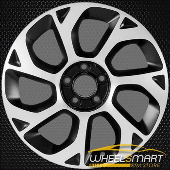 "16"" Fiat 500 OEM wheel 2014-2018 Black alloy stock rim 5NE98MX5AA"
